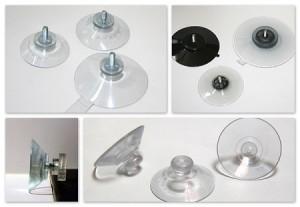 modèles de ventouses transparentes